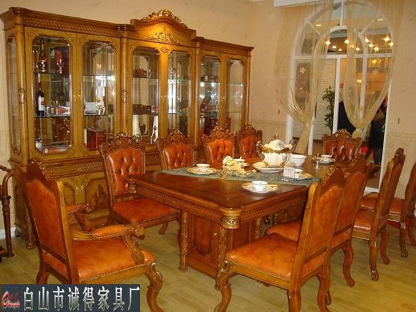 白山欧式餐桌椅